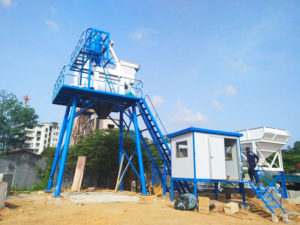 AJ-50 concrete plant in Sri-Lanka