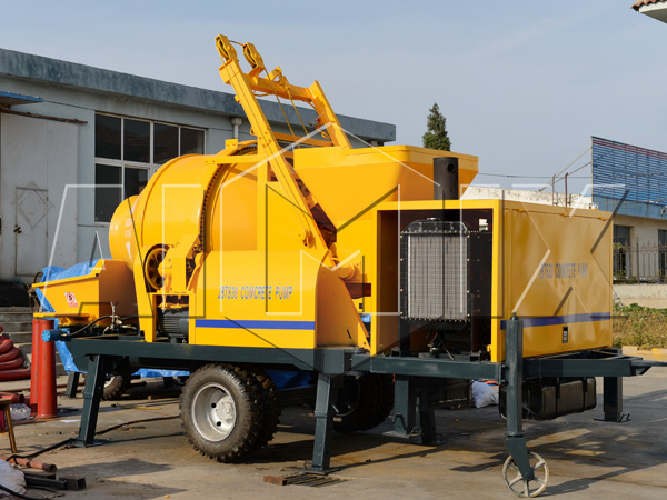 JBTS30 concrete pump mixer trailer