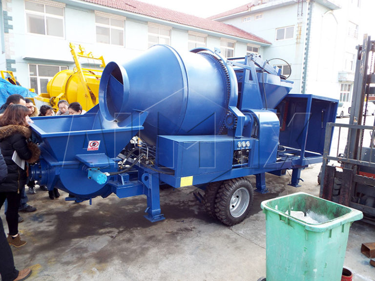 JBTS40 concrete trailer mixer pump