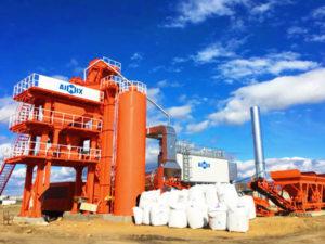 LB1000 stationary asphalt plant