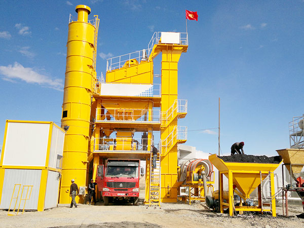 QLB-30 mini stationary mini asphalt mixing plant