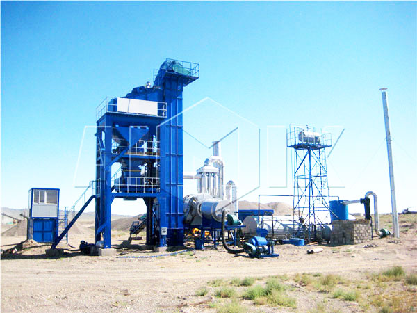 QLB-10 mini stationary asphalt mixing plant