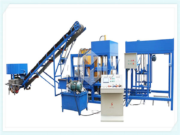 QT10-15 hydraulic interlocking brick machine