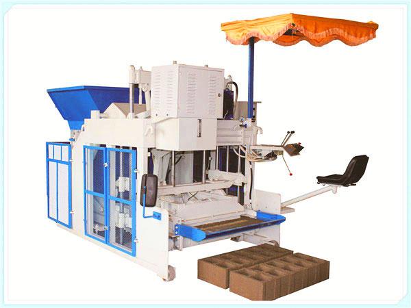 QT3-15 semi automatic hollow block machine
