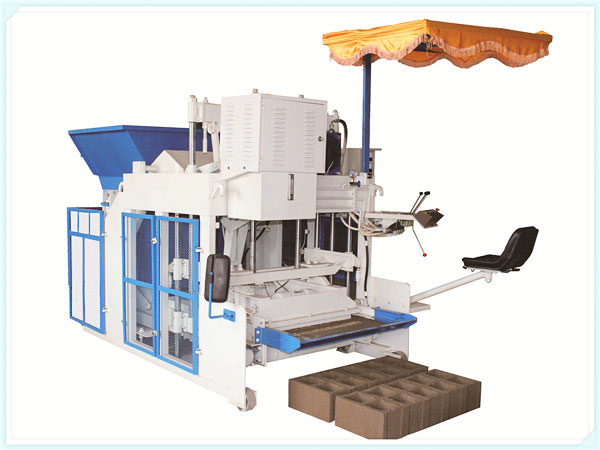 QT3-15 interlocking brick machine