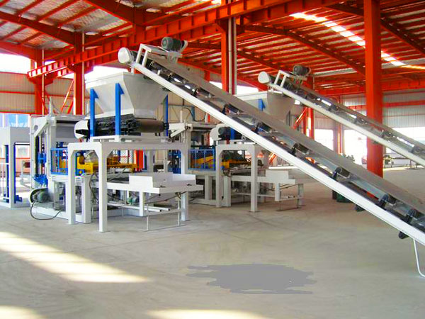 ABM-4SE hydraulic concrete block machine