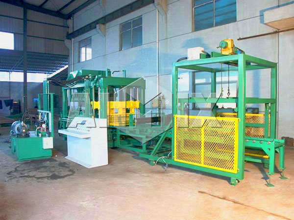ABM-6S interlocking block making machine
