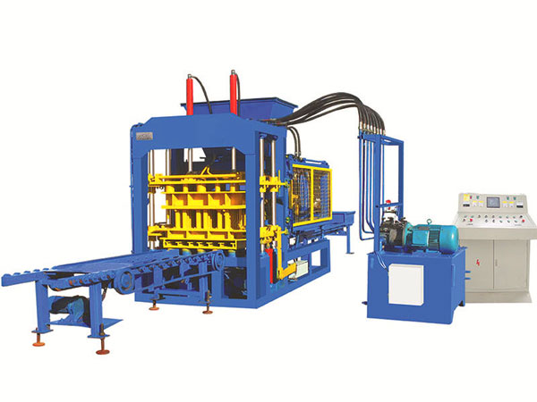 ABM-6Sfully automatic concrete brick machine