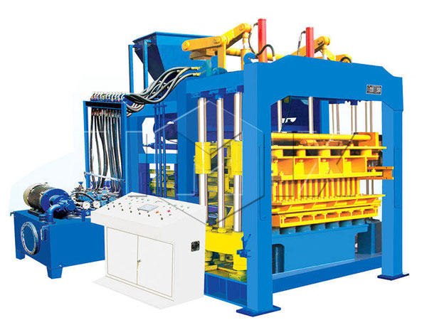 ABM-8S cement interlocking bricks machine