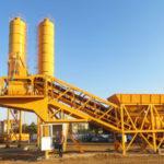 YHZS25-75 Mobile Concrete Batching Plant