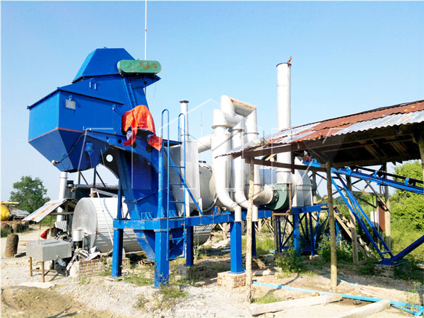 QLBY-10 mini portable asphalt plant