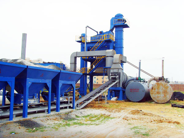 QLB-30 mini asphalt batching plant