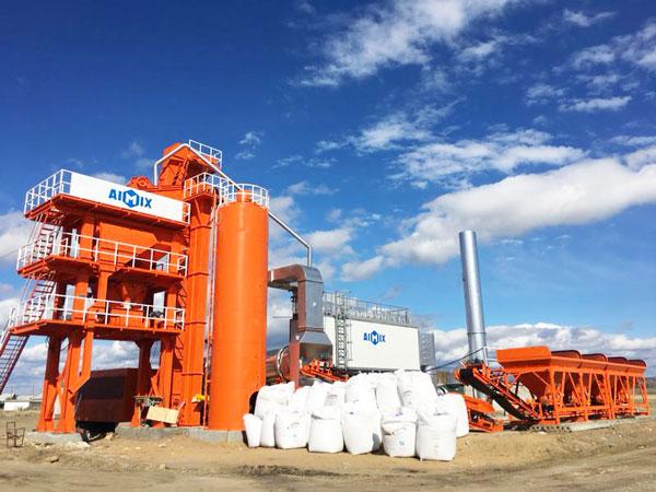 QLB-80 asphalt mixing plant sale