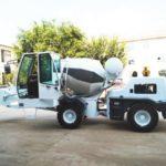 1.2 Cub Self Loading Mobile Concrete Mixer Russia Was Ready