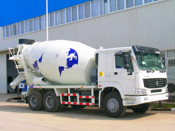 14m3 concrete transit mixer