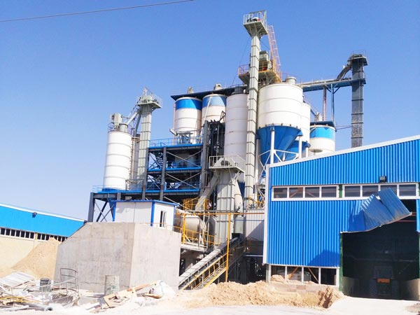 30t dry mix mortar production line Iran