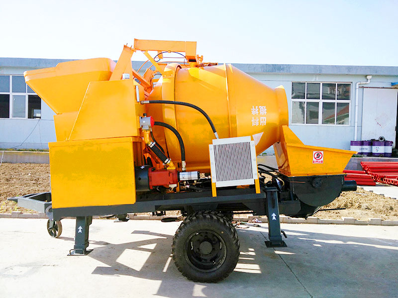 Concrete Pump With Mixers For Sale