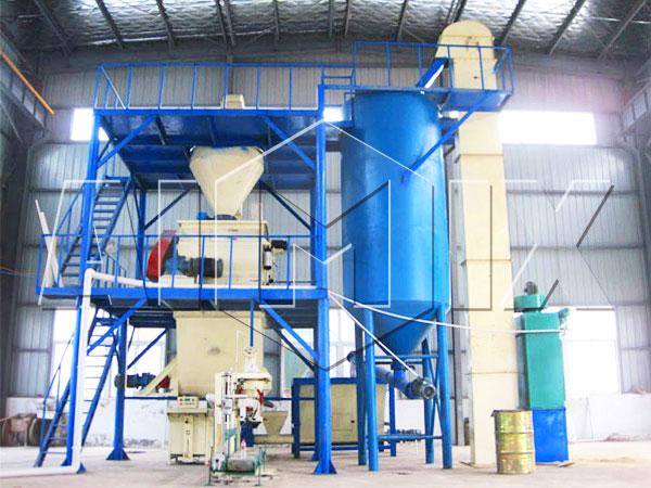 GJ10 tile adhesive manufacturing plant