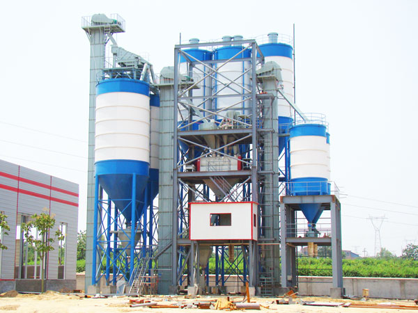 GJ60 ready mix plaster plant