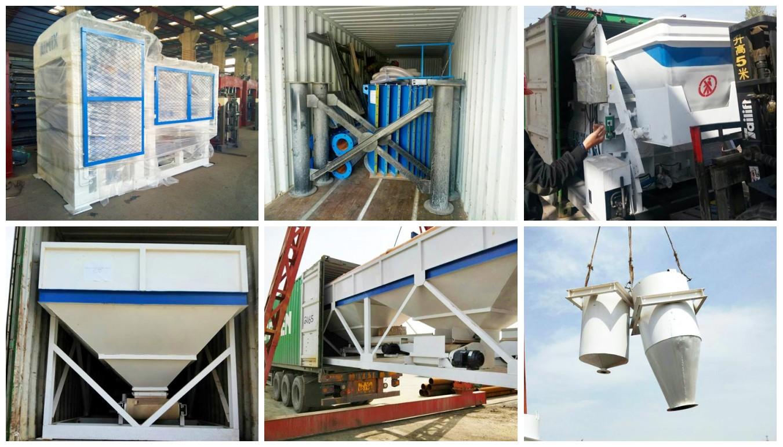 QT8-15 block making machine to Dominica