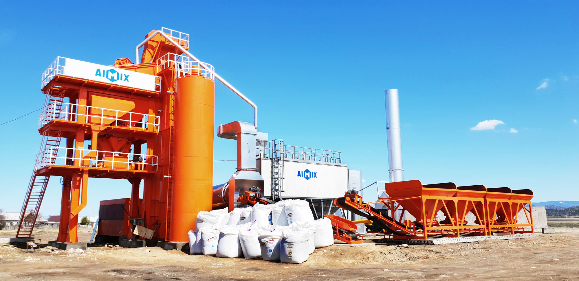 asphalt mixing plant equipment