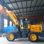 100t Bolted Type Cement Silo And Wheel Loader Were Going To Uzbekistan