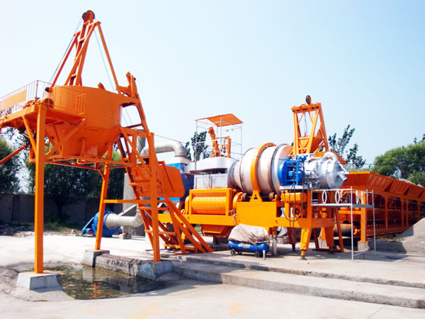mobile asphalt hot mix plant