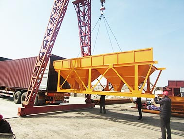 shipment of batching machine