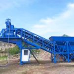 Congratulations YHZS35 Mobile Concrete Plant Philippines Has Been Finished Installation