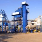 120t Stationary Asphalt Mixing Plant Uzbekistan Was Finished Installation