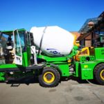 2m3 And 3m3 Self Loading Concrete Mixer Trucks Russia Were Inspected
