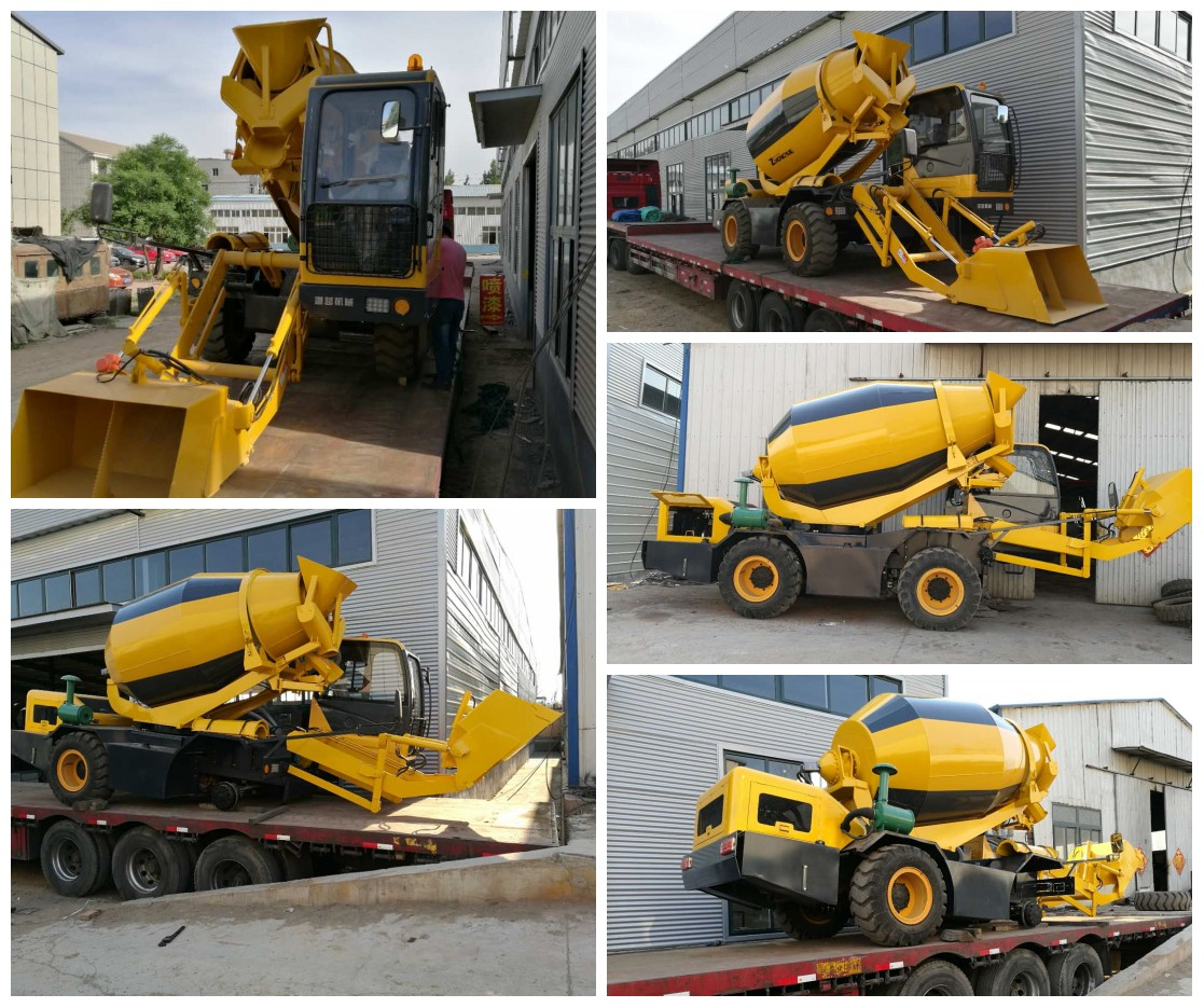 Self Loading Concrete Mixers With Best Self Loading