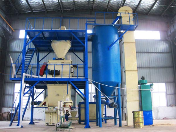 ready mix plaster mix plant