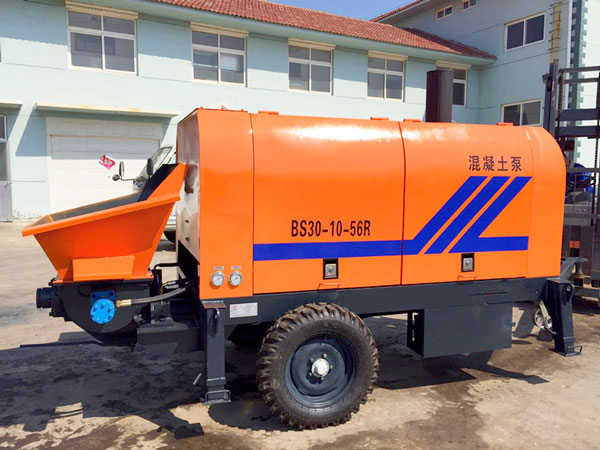 ABT30C electric trailer concrete pump