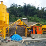 Installation And Debug For HZS60 Stationary Batching Plant In Indonesia