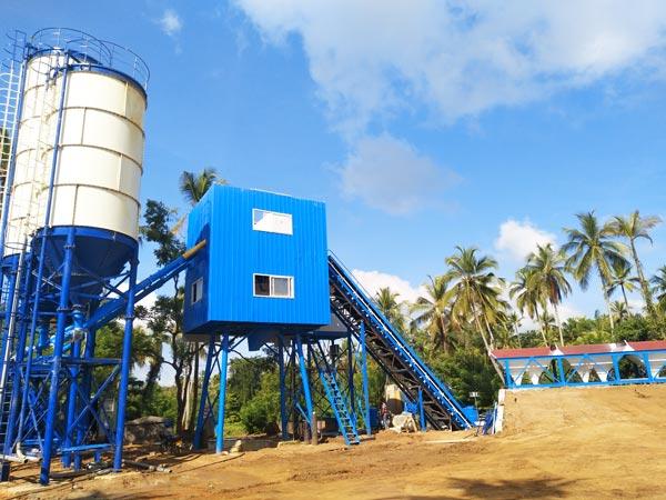 installation of hzs60 in Sri Lanka
