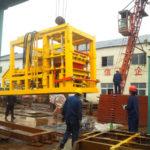 Congratulations Successful Shipment Of QT12-15 Automatic Brick Making Machine Bangladesh