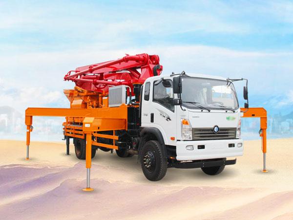 37m concrete boom truck