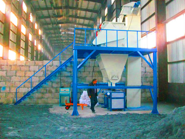 GJ10 wall putty manufacturing plant