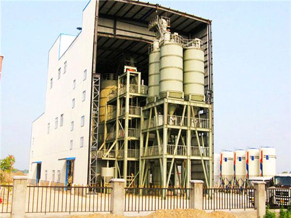 Planta de fabricação de massa de parede GJ100