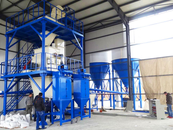GJ15 wall putty powder machine