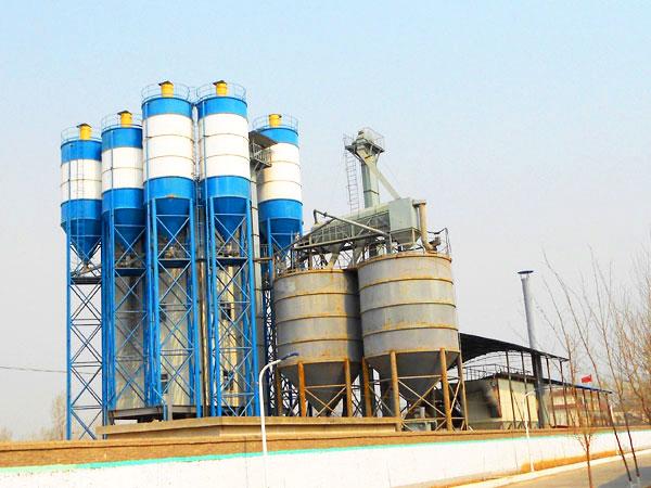 Planta de fabricação de massa de parede GJ40