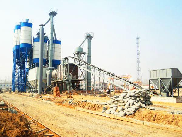 Planta de fabricação de massa de parede GJ80