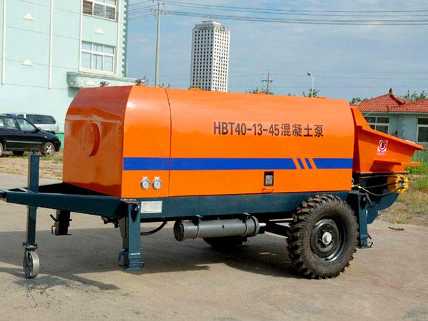 HBT40 electric concrete line pump