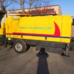 Shipment Of HBTS90-18-176R Diesel Concrete Pump Kazakhstan