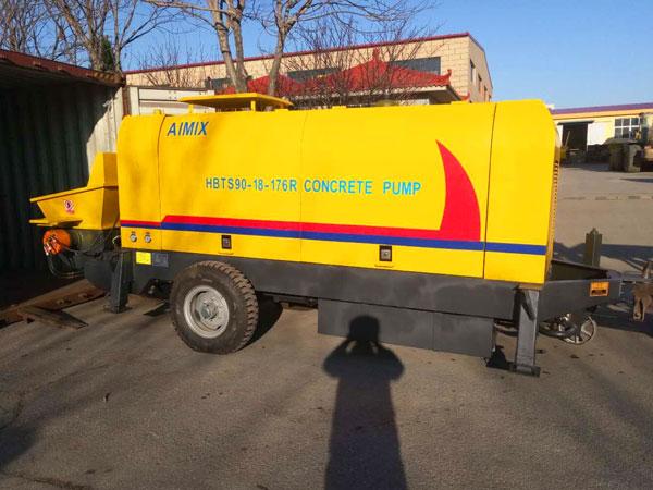 HBTS90-18-176R diesel engine concrete pump Kazakhstan