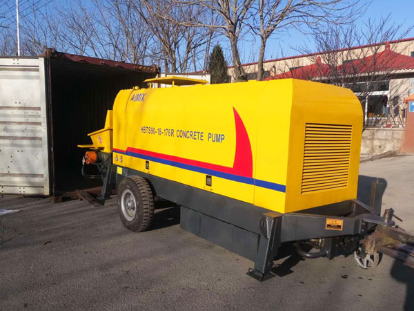 HBTS90 diesel concrete pump for sale Kazakhstan
