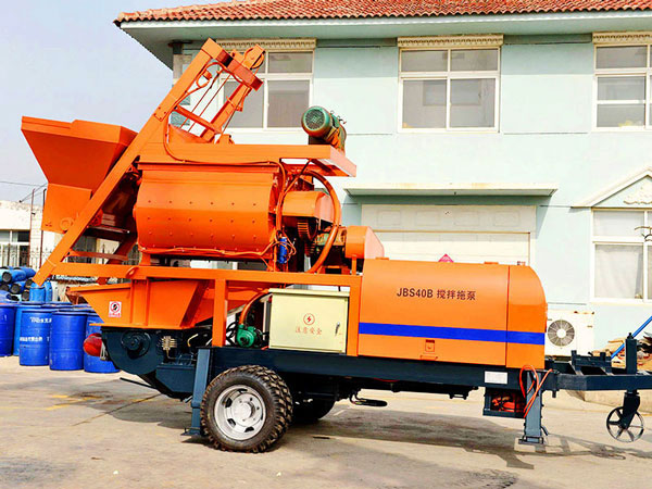 JBS40-JS750 compulsory concrete mixer pump