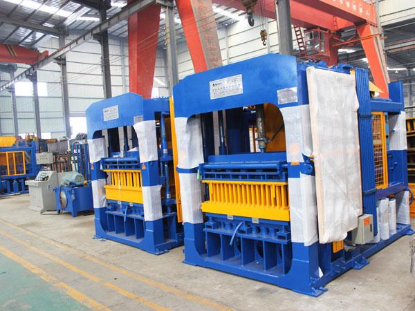 ABM-10S hydraulic block machine