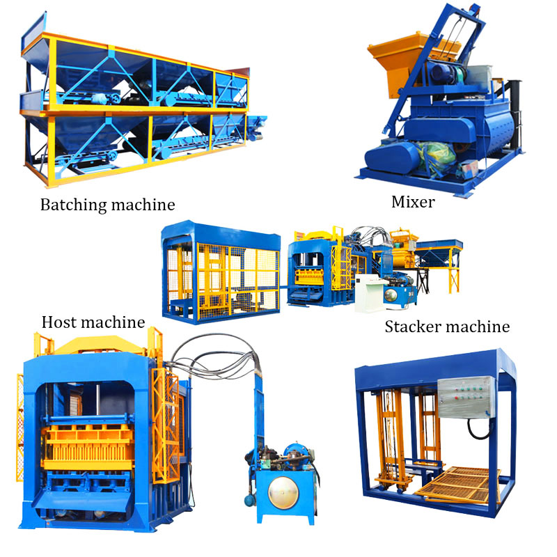 QT12-15 hydraulic brick making machine